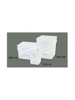 Square Storage Cont Clear 12 Qt