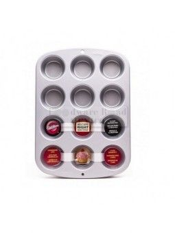 Molde Para Muffin Standard Wilton 12 Cavidades Recipe Right