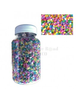Sprinkles Confeti Comestible Sequins Importado Usa Kerry Bote 100 Grms