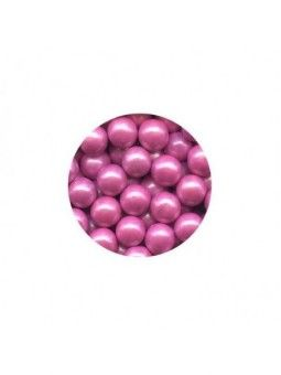Sixlets Caramelo Chocolate Perla Rosa 10Mm 10 Libras