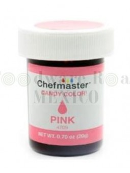 Color Para Chocolate Chefmaster Rosa 0.7Oz (20G)