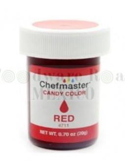 Color Para Chocolate Chefmaster Rojo 0.7Oz (20G)