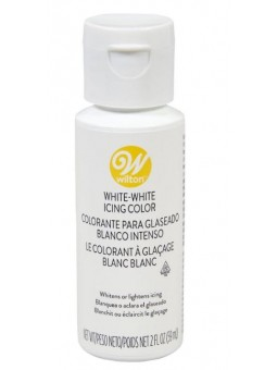Color Blanco Intenso Para Glaseado 2 Oz. 59 Ml