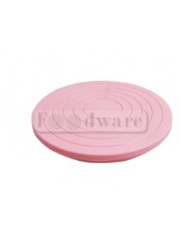 Base De Plástico Color Rosa Para Galletas